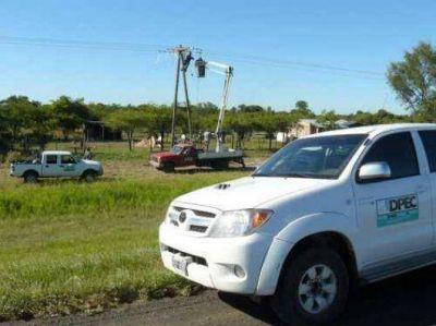 La nueva línea ya suma energía a Paso de la Paria, San Cosme e Itatí