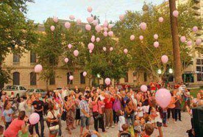 Suelta de globos: una actividad simb�lica para luchar contra el c�ncer