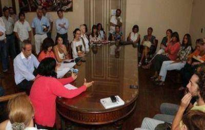 """El Consejo Local de la Niñez llamó a funcionarios a abordar """"cuerpo a cuerpo"""" la inseguridad en Las Tunitas"""