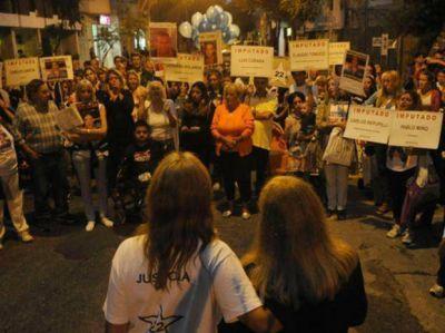 A seis meses de la tragedia, los familiares de las víctimas de calle Salta reclaman contención