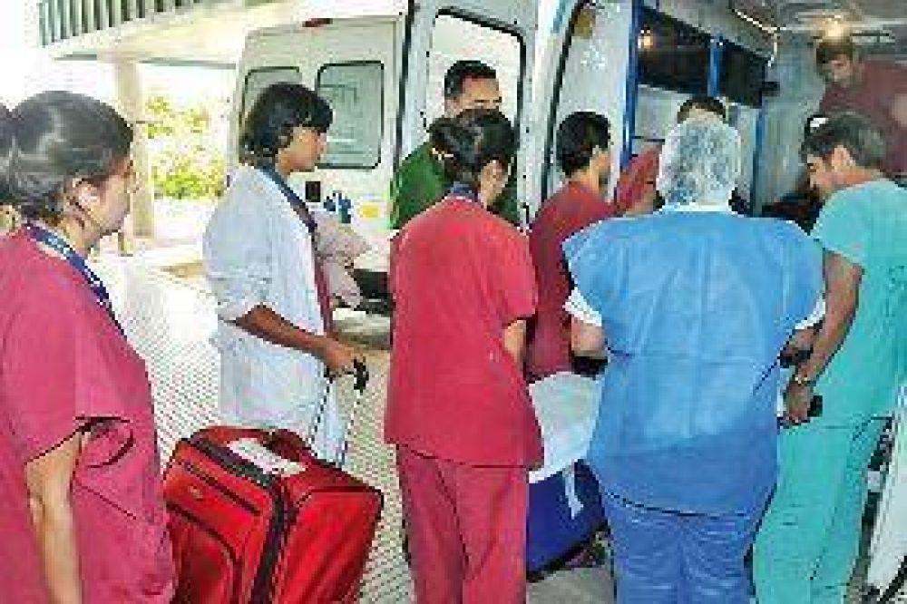 Cinco pacientes se beneficiaron con la ablación realizada la madrugada de ayer