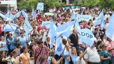 Gremios exigen paritarias transparentes y un sueldo digno