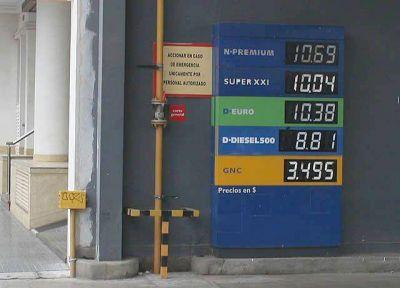Ya rigen las subas de entre un 6% y un7% en las estaciones de servicios de Tucumán