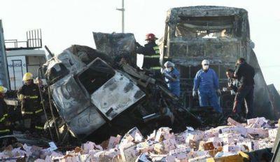 Accidente Ruta 7: Seguridad sancionó a nueve policías