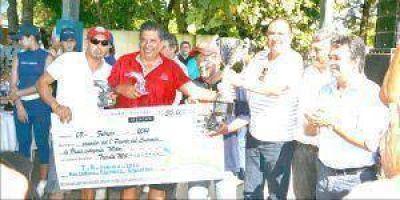 Premiaron a los ganadores de la pesca en Herradura