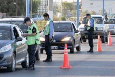 La Policía del Chubut hizo más de 2.500 operativos de control y prevención en enero