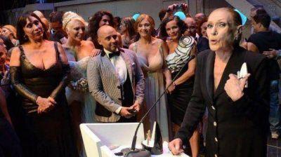 Norma Pons se quedó con el premio Estrella de Mar de Oro