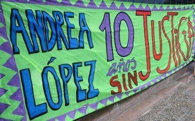Caso Andrea López: entregaron firmas para pedir que se haga el juicio
