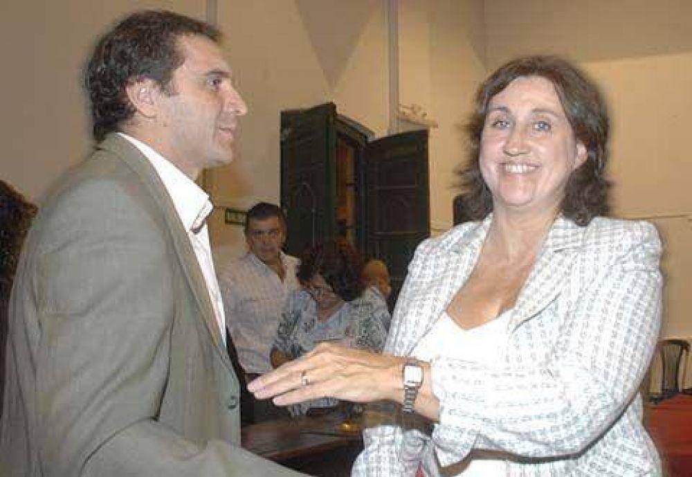 En la Cámara textil se reunieron, Pulti, Pezzati, Fassano, Cirese y Laserna, entre otros