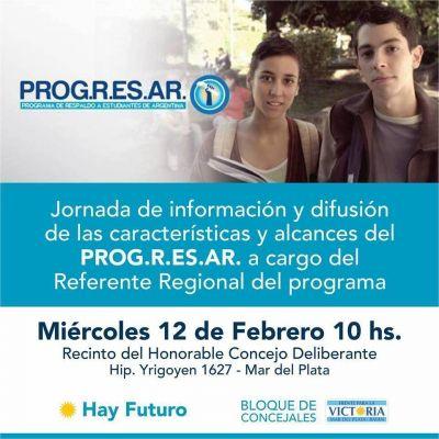PROG.R.ES.AR - Jornada de información