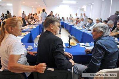 Binner y Moyano se mostraron juntos y evaluaron potenciales acuerdos políticos y parlamentarios