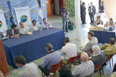 """Buzzi: """"Desarrollamos infraestructura proyectando el crecimiento de nuestras localidades"""""""