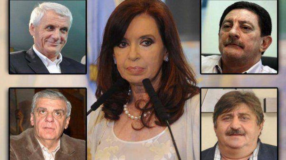 CGT y CFK, una mesa de cinco que reeditó el diálogo