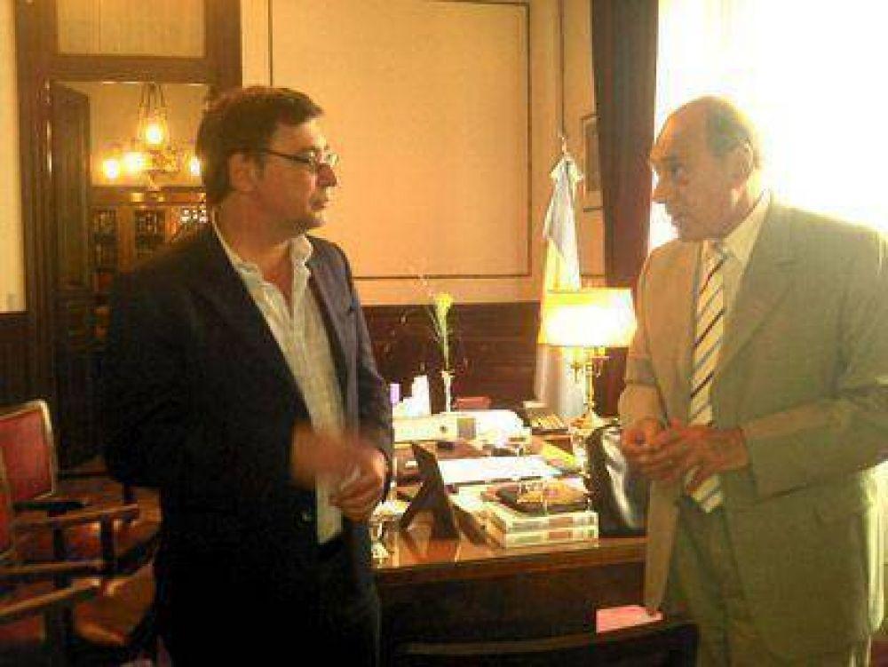 El rector de la UNDAV se reunió con el Juez de la Corte Dr. Eugenio Zaffaroni