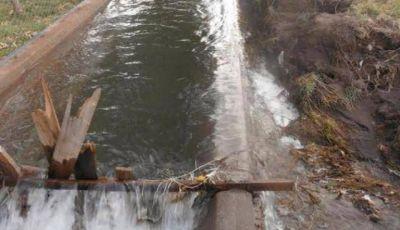 Por actos vandálicos deberán gastar $130.000 en la reparación del canal Marginal de San Rafael