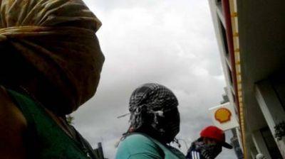 Tensión en una protesta de Quebracho contra Shell