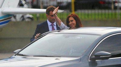 Antes de viajar a Santa Cruz, Cristina Kirchner se realizó un control médico programado