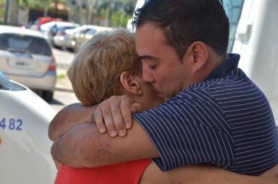 La familia Camargo volvió a su casa luego de la tragedia