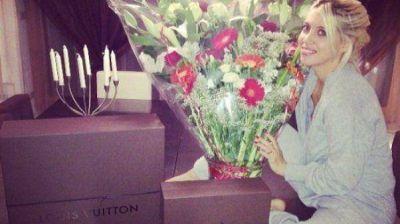 Los lujosos regalos de Icardi a Wanda Nara por el Día de los Enamorados