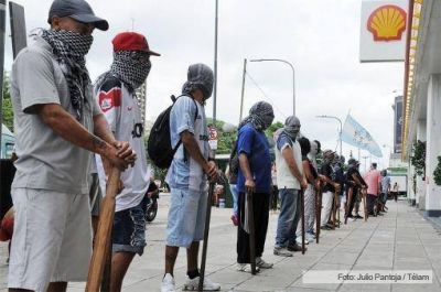 Organizaciones políticas y sociales se manifestaron contra Shell