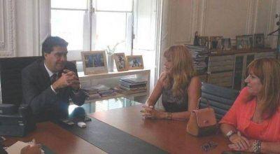 Aída se reunió con Capitanich por el plan de obras para Resistencia