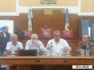 """Mario Rapoport en Mar del Plata: """"Qué casualidad que siempre se quiera derrocar gobiernos populares"""""""