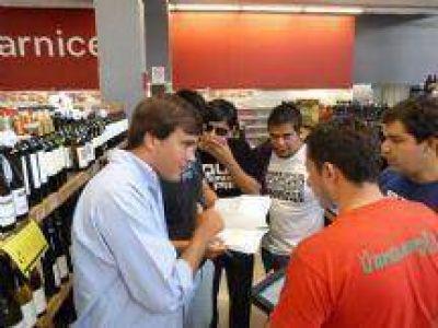 El Gobierno salteño controla el cumplimiento del acuerdo de Precios Cuidados en 27 supermercados de la ciudad