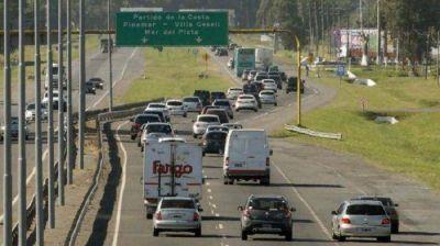 Más de 1000 vehículos por hora se acercan a la Costa en el último recambio