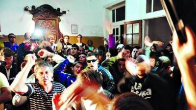 Luján: graves incidentes en una marcha contra la inseguridad