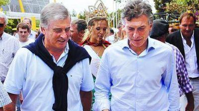 Macri se mostró con Aguad y no descartó sumarse a un frente