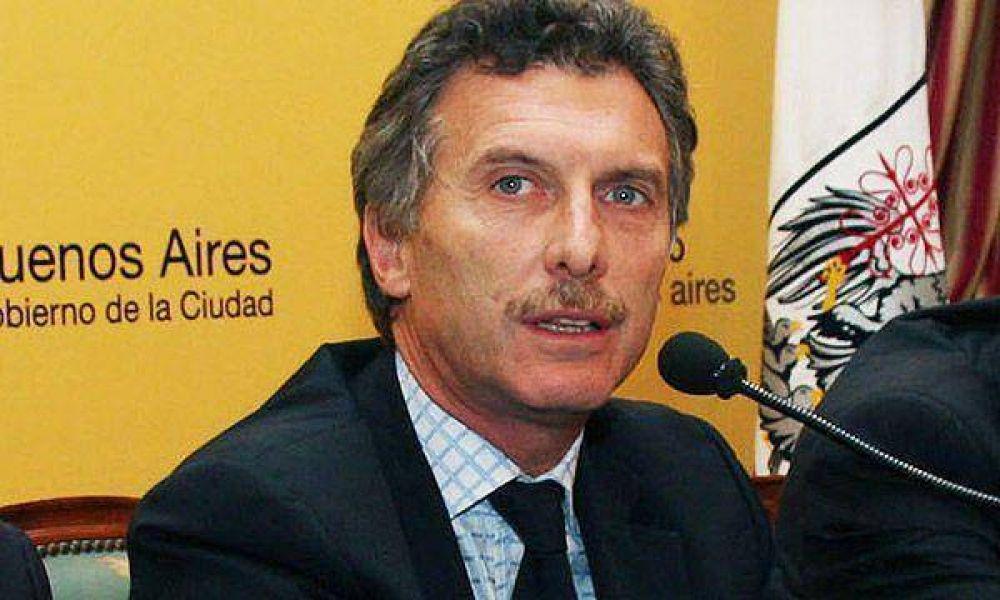 Macri se mostró en desacuerdo con el proyecto de nueva ley de drogas
