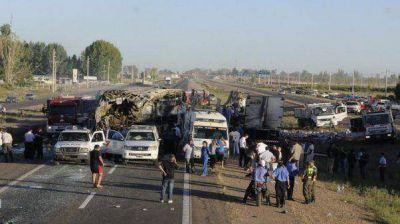 El chofer que causó la tragedia en Mendoza tenía 2,32% de alcohol en sangre