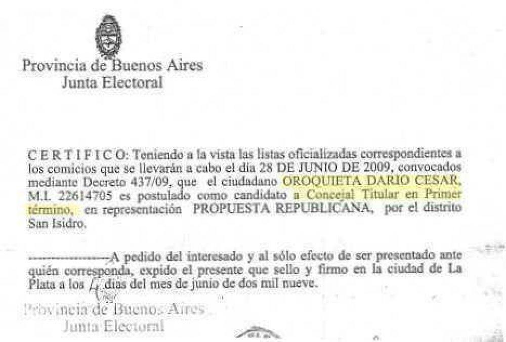 Elecciones Polémica en Unión Pro de San Isidro