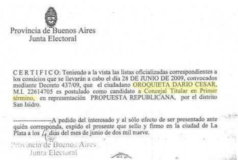Elecciones Pol�mica en Uni�n Pro de San Isidro