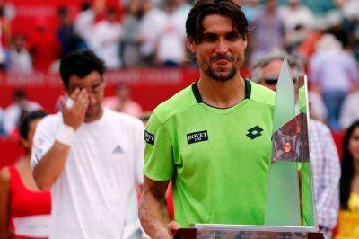 David Ferrer, reemplazante de Rafael Nadal, gritó campeón en el ATP de Buenos Aires