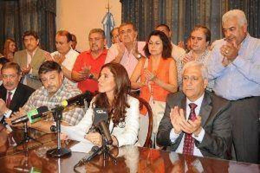 Sindicatos docentes remarcaron la política de diálogo de la gobernadora