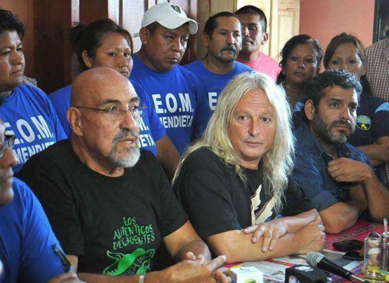 Santillán y Sobrero anunciaron plenario sindical combativo el 15 de marzo en Buenos Aires