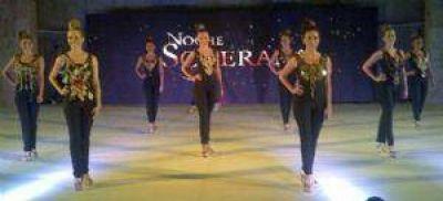 Las candidatas a Reina del Sol brillaron a puro desfile y canto