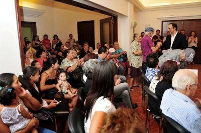 Otras 45 familias fueron beneficiadas por el Plan de Regularización Dominial