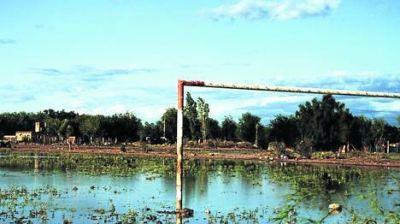 La inundación ya pone en riesgo la cosecha para vino