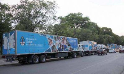 Seis camiones sanitarios partieron hoy para iniciar un megaoperativo de 15 días en El Impenetrable