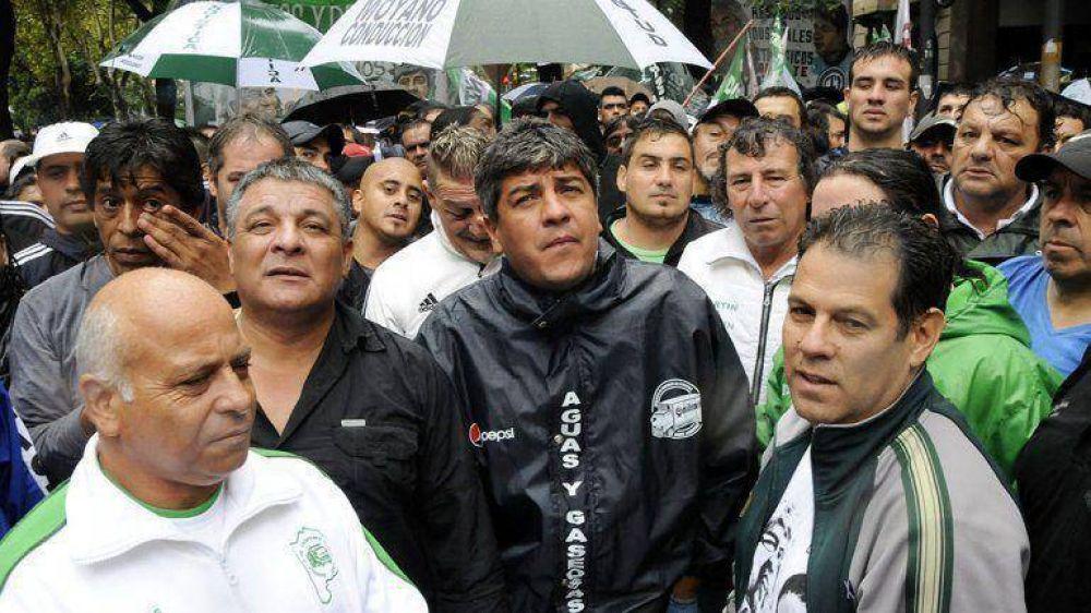 """Pablo Moyano dijo que """"hay cero posibilidades"""" de unidad con la CGT de Antonio Caló"""