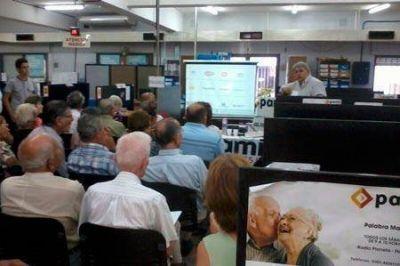 Los jubilados se informaron sobre los Precios Cuidados