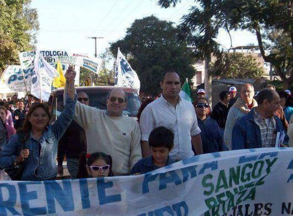 Candidatos del FPV recorrieron calles de San Pedro