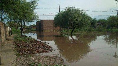 Enviaron ayuda a los afectados por las lluvias en San José del Boquerón