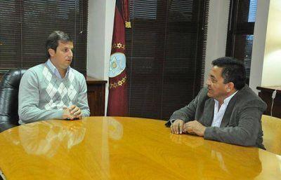 El Foro de Intendentes informó al ministro de Gobierno sobre acuerdos salariales de los municipios