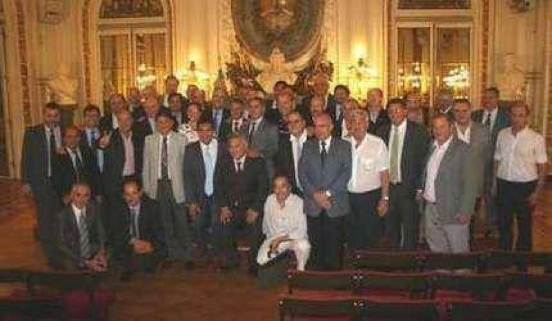Echeverría mantuvo un encuentro en Casa Rosada