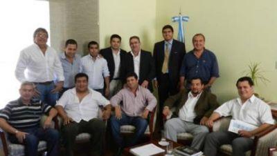 Raúl Jalil recibió a los presidentes de los CD del interior