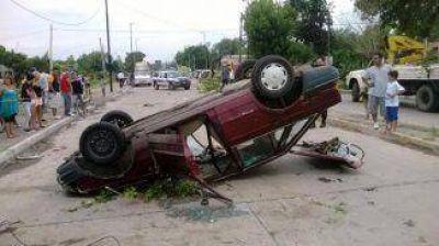 Tornado en Berazategui provocó voladuras y apagones