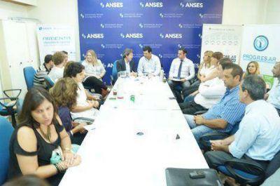 Encuentro regional de Anses para planificar las acciones del presente año